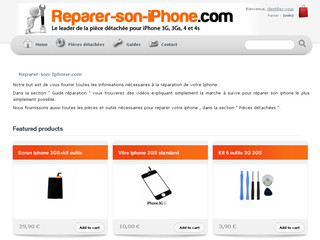 Détails : Reparation iphone