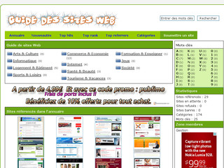 Détails : Le guide des sites web
