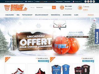 Détails : Boutique d'articles de Basket-Ball