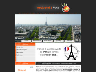 Détails : Week-end à Paris