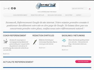 Détails : Referencement site internet