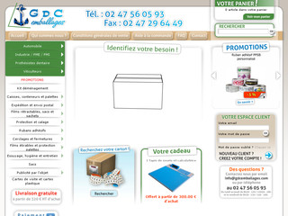 Cartons d'emballage GDC