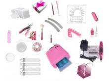 ongles french kit manucure